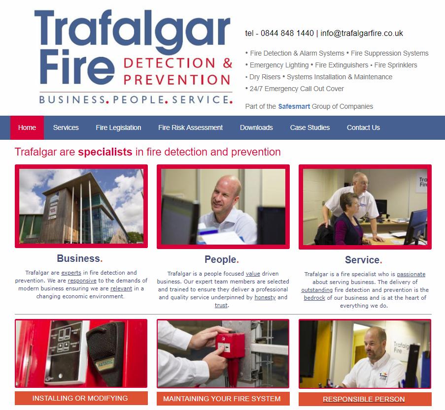 Trafalgar Fire
