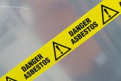 danger, asbestos