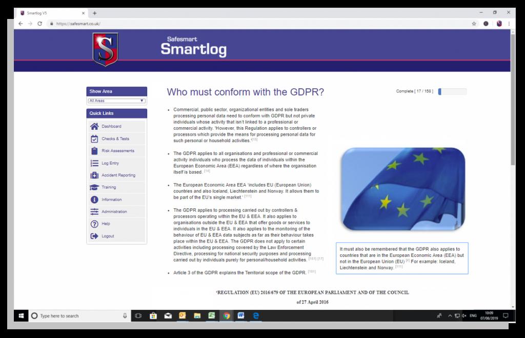 GDPR online training course